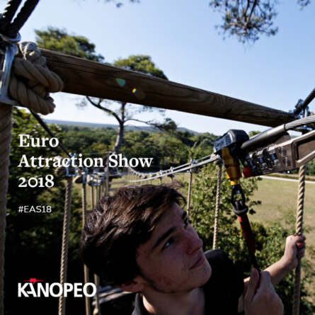 Sep 25 - 27 I Kanopeo attends Euro Attractions Show (EAS) 2018, Booth 5-303