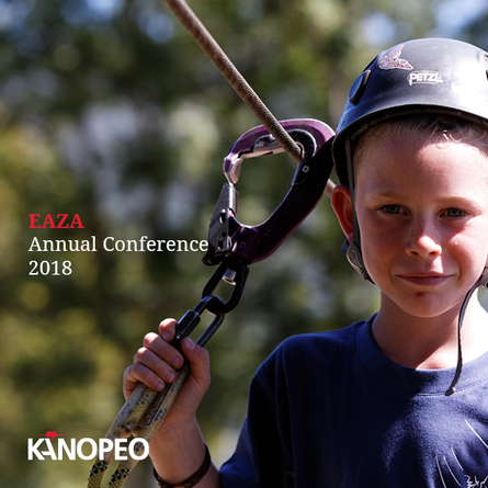 Sep 18 - 22 2018 I Kanopeo attends EAZA Annual Conference 2018, Booth 11